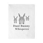 Dust Bunny Whisperer Twin Duvet Cover