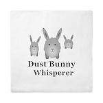 Dust Bunny Whisperer Queen Duvet