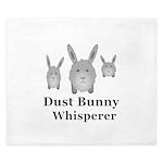 Dust Bunny Whisperer King Duvet