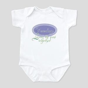 Genealogy Lace Infant Bodysuit