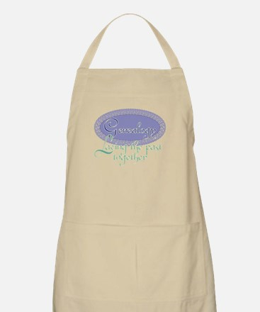 Genealogy Lace BBQ Apron