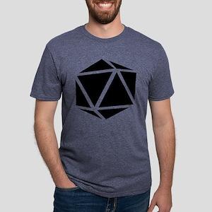 icosahedron black T-Shirt