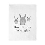Dust Bunny Wrangler Twin Duvet Cover