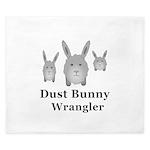 Dust Bunny Wrangler King Duvet