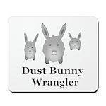 Dust Bunny Wrangler Mousepad