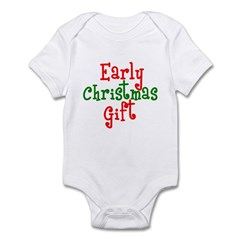 Early Christmas Gift Infant Creeper