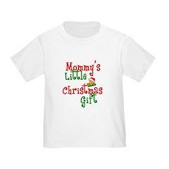 Mommy's Little Christmas Gift Toddler Tee
