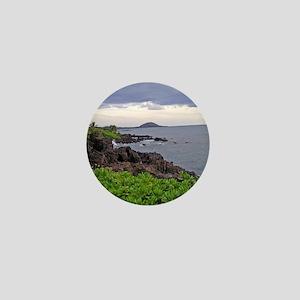 Hawaii Landscape Mini Button