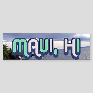 Hawaii Landscape Sticker (Bumper)