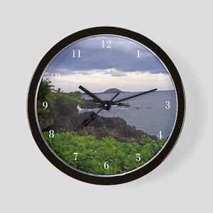 Hawaii Landscape Wall Clock