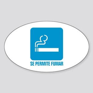 spf Oval Sticker