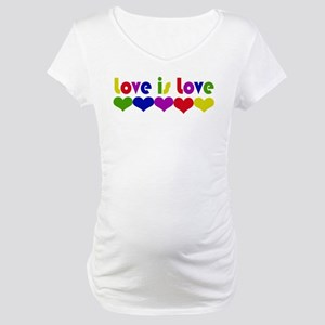 Love is Love Maternity T-Shirt