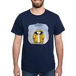 Rainy Day Penguin Dark T-Shirt