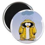 Rainy Day Penguin Magnet
