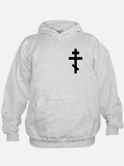 Orthodox Plain Cross Hoodie
