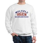 Sweatshirt with orgasm design