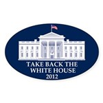 Take Back The White House Oval Sticker (10 pk)
