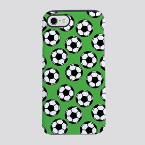 Soccer Ball Pattern iPhone 7 Tough Case