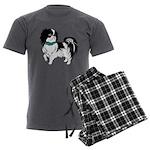 Shih Tzu Men's Charcoal Pajamas