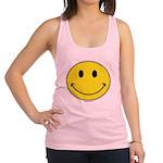 Smiley Face Racerback Tank Top