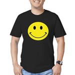 Smiley Face Men's Fitted T-Shirt (dark)