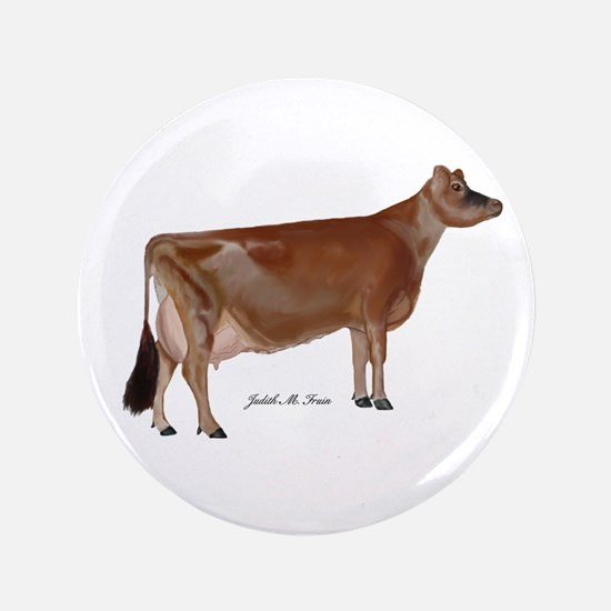 """Jersey Cow 3.5"""" Button (100 pack)"""