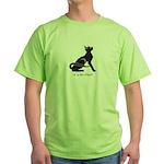 "Catoliner ""A"" Green T-Shirt"