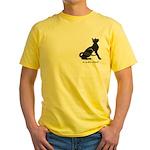 "Catoliner ""A"" Yellow T-Shirt"