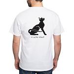 "Catoliner ""A"" White T-Shirt"