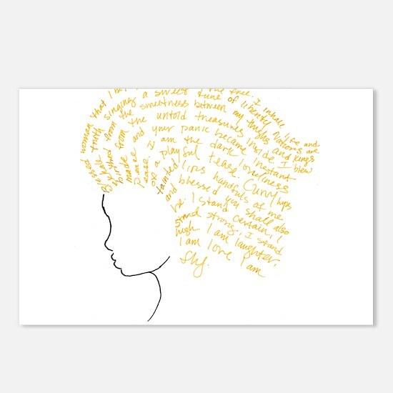 Cute Spoken word Postcards (Package of 8)