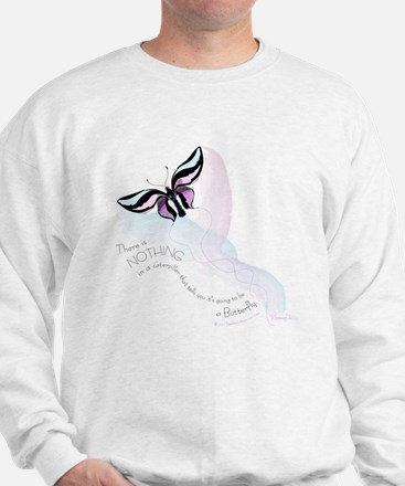 Butterfly Quotation Sweatshirt