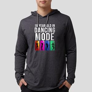 18 Year Old Dancing Mode Long Sleeve T-Shirt