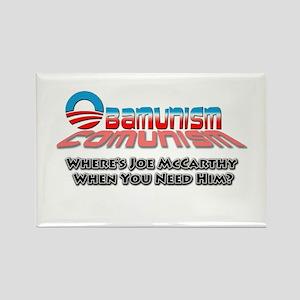 Obamunism Rectangle Magnet
