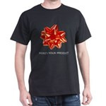 Ad-Free Red Bow for you  Black T-Shirt