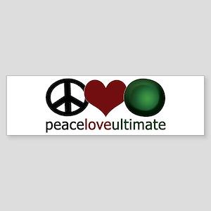 Ultimate Love - Bumper Sticker
