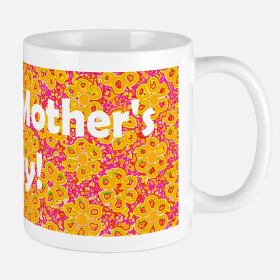Happy Mother's Day Floral Mug / Cup (O/P)