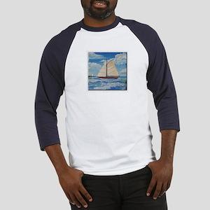 Sailing the Monterey Bay Baseball Jersey