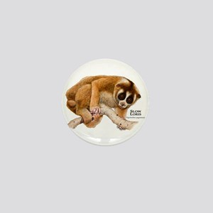 Slow Loris Mini Button