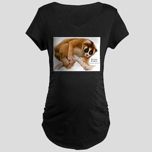 Slow Loris Maternity Dark T-Shirt