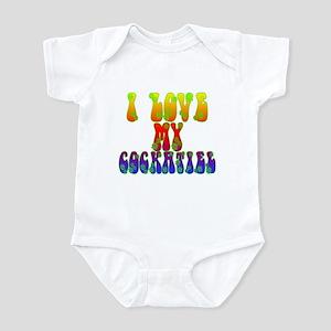 Love My Cockatiel Infant Bodysuit