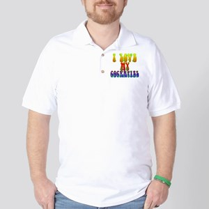 Love My Cockatiel Golf Shirt