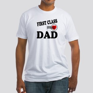 DAD 1 Fitted T-Shirt