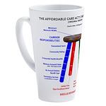 Three-Legged Stool 17 Oz Latte Mug