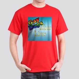 Gay Days Of Our Lives Dark T-Shirt