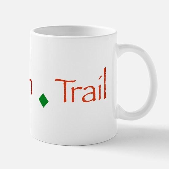 Rubicon Trail Type Mug
