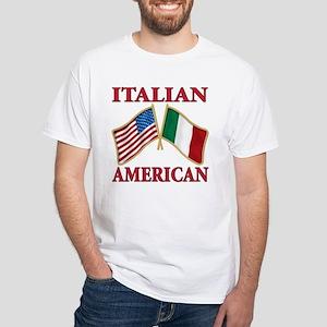 Italian american Pride White T-Shirt