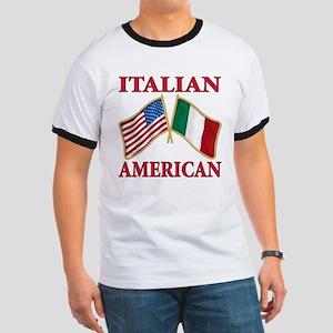 Italian american Pride Ringer T