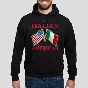 Italian american Pride Hoodie (dark)