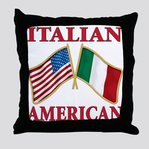 Italian american Pride Throw Pillow