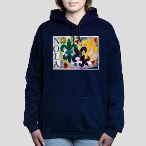 NOLA Mardi Gras Fleur de li Sweatshirt